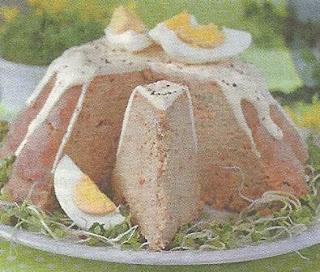 Пасхальный мясной кекс