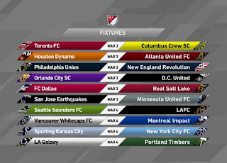 MLS Schedule and Highlights Biss Key 27 February 2018