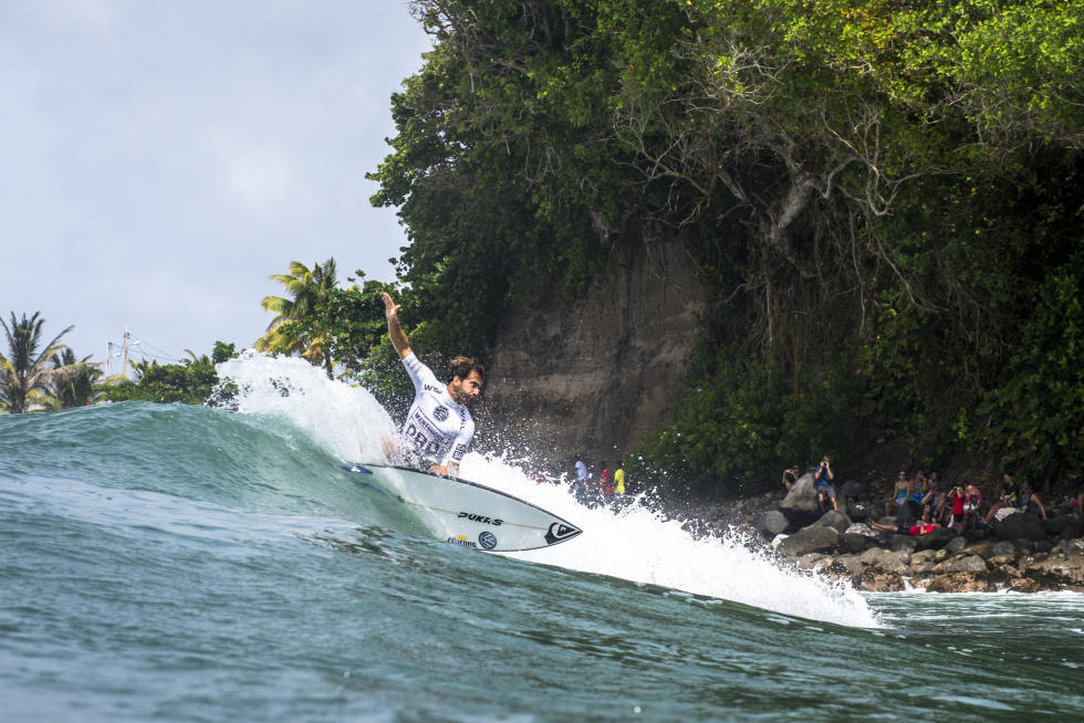 2016 Martinique Surf Pro Highlights Best 16 Advance to Finals Day