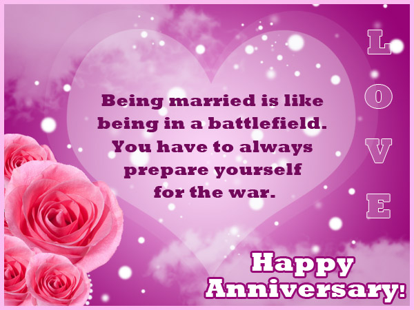 Wedding Anniversary Message For Wife Abroad With Beautiful