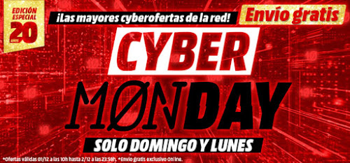 Top 10 ofertas Cyber Monday 2019 Media Markt