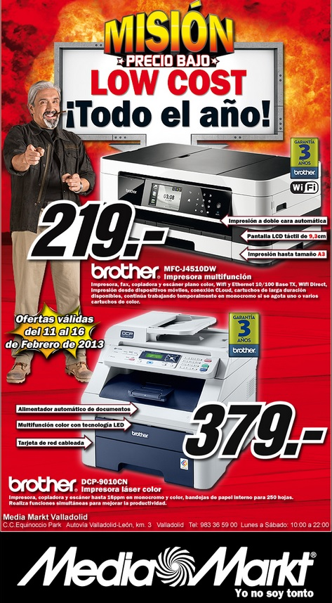 Media Markt Valladolid Mision Precio Bajo 11 16 Febrero 2013