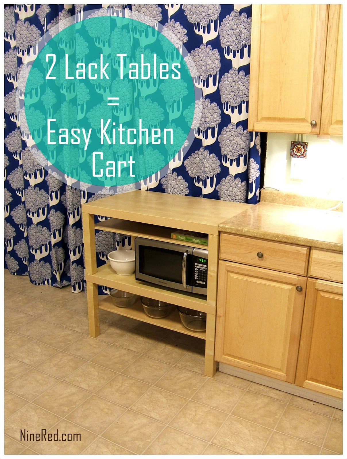 IKEA Hack: Cheap U0026 Easy Kitchen Cart