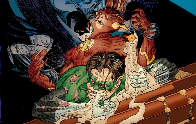Justice League Sinister In DC Comics's House of Horror Halloween One-Shot.