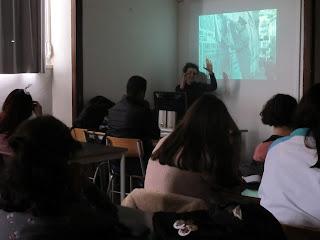 O MUNDO À NOSSA VOLTA – Cinema cem anos de juventude – Exercício @ Escola Secundária de Camões