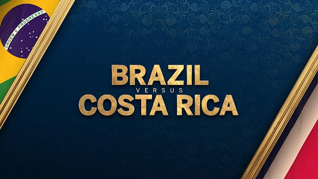 BRAZIL VS COSTA RICA LIVE STREAM WORLD CUP 22 JUNE 2018