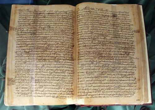 Manoscritto di Historia animalium, di Aristotele