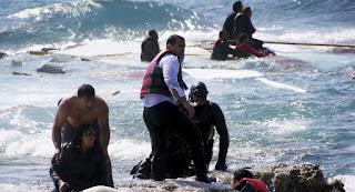 غرق قارب يحمل 160 مهاجرا سوريا شمال قبرص ووفاة 16 وإنقاذ 105وجاري البحث عن 26 مفقود