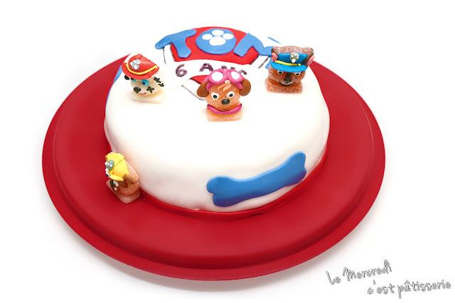 Gâteau Pat' Patrouille