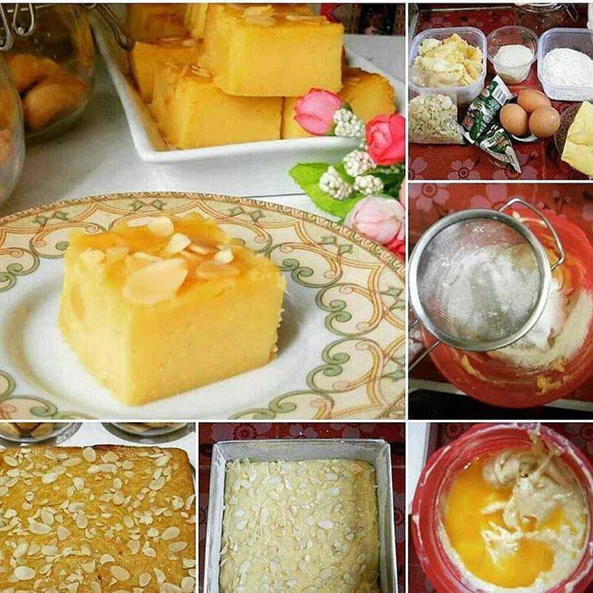 Resep Membuat Proll Tape Almond Praktis, Enak, Padat, Moist dan Legiiit Bund
