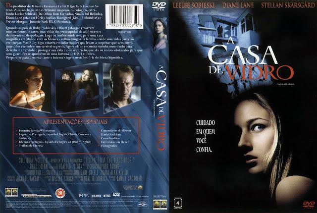Capa DVD A Casa de Vidro