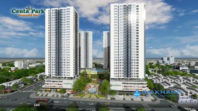 Dự án căn hộ Centa Park Âu Cơ Tân Bình