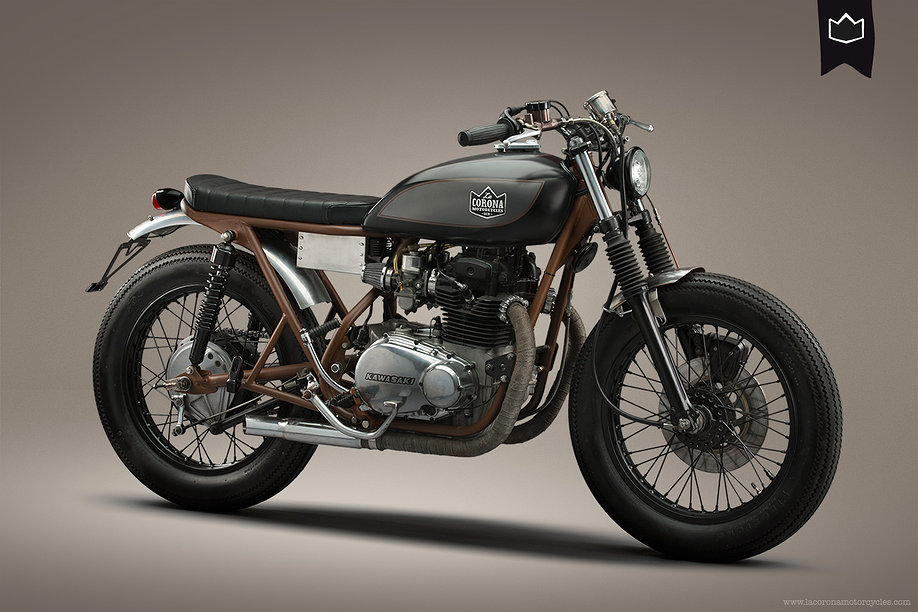 kawasaki kz400la corona ~ return of the cafe racers