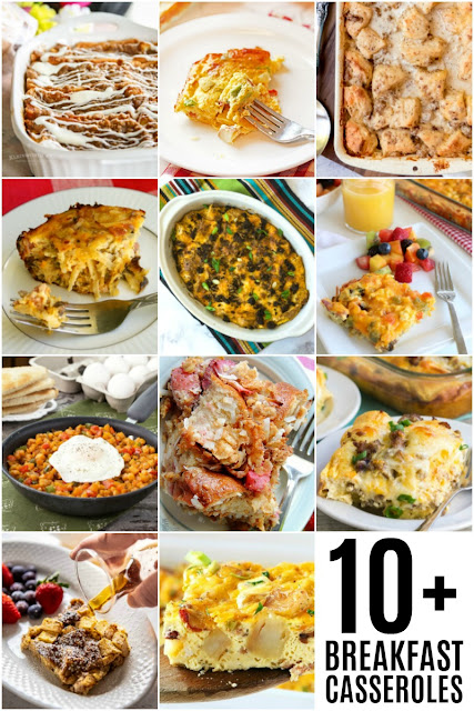 These 10+ easy breakfast casserole recipes are perfect for a weekend brunch!