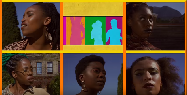 the foxy five, foxy five webseries, nadia newman, african webseries, feminism,