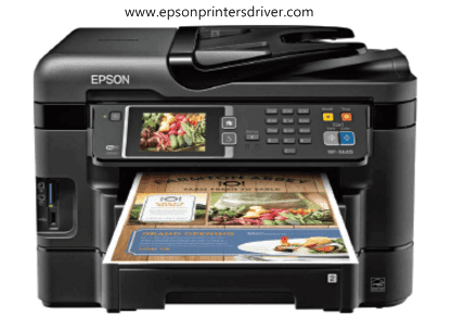 How To Ad The Epson Workforce Wf 3640 Printer Driver