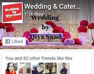Wedding by Qiya Saad, Wedding Planner KL, Pakej Perkahwinan, Pakej Catering, Pelamin Murah,