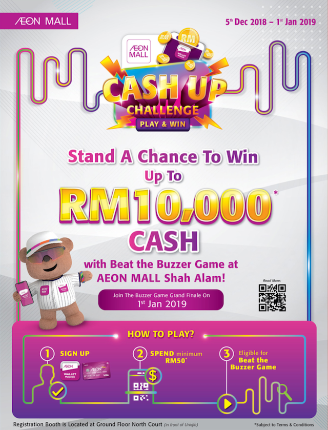 Stand a chance to win RM10,000 Cash!