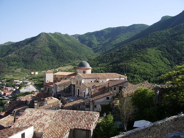 Morano Calabro vista sul borgo dal castello
