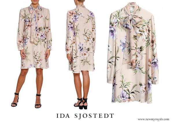 Princess Sofia wore Ida Sjöstedt Shirley Dress