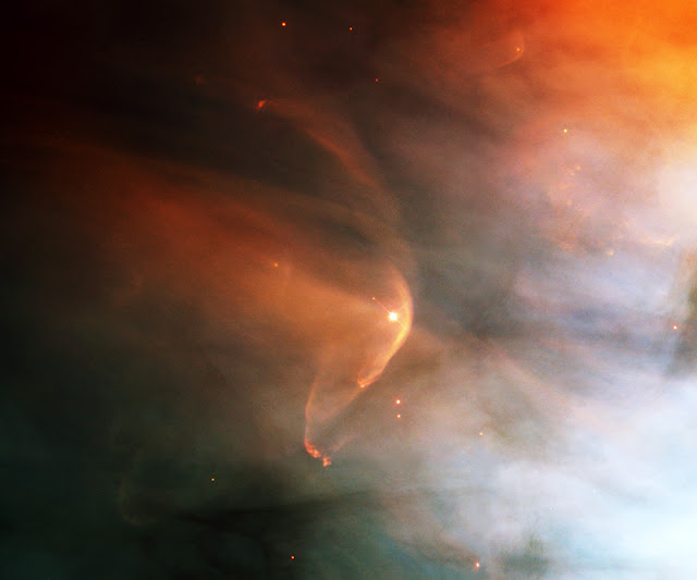 A Bow Shock Near a Young Star LL Ori