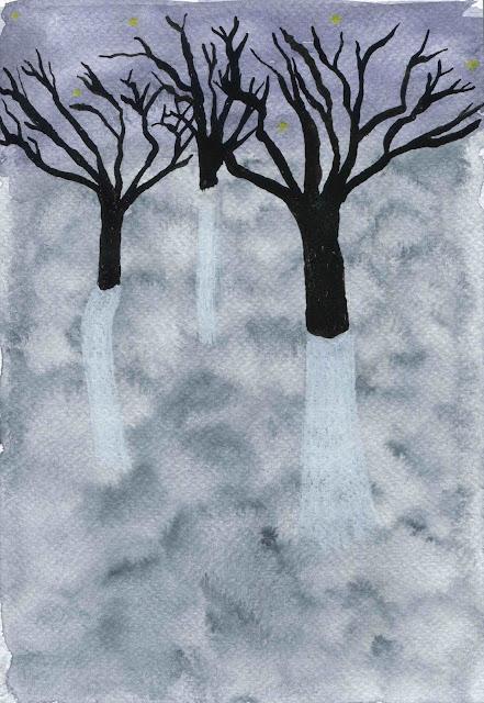 arbres aux étoiles