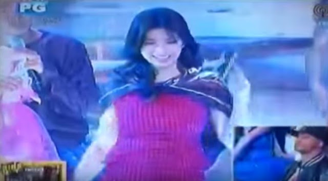 MUST WATCH: Angel Locsin Grooved To The Dance Craze 'Whoops Kirri' On 'It's Showtime'! AMAZING!