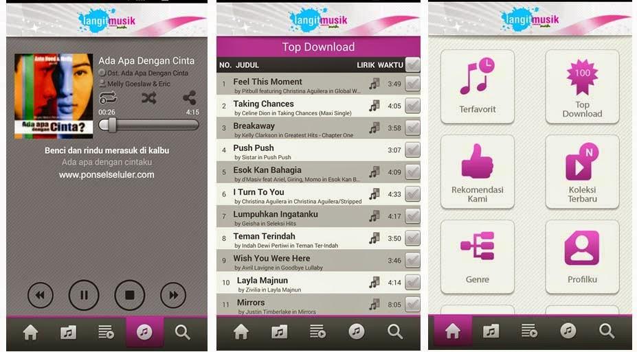Inilah Aplikasi Download Lagu Di Android Yang Mudah Nasuma Nacid