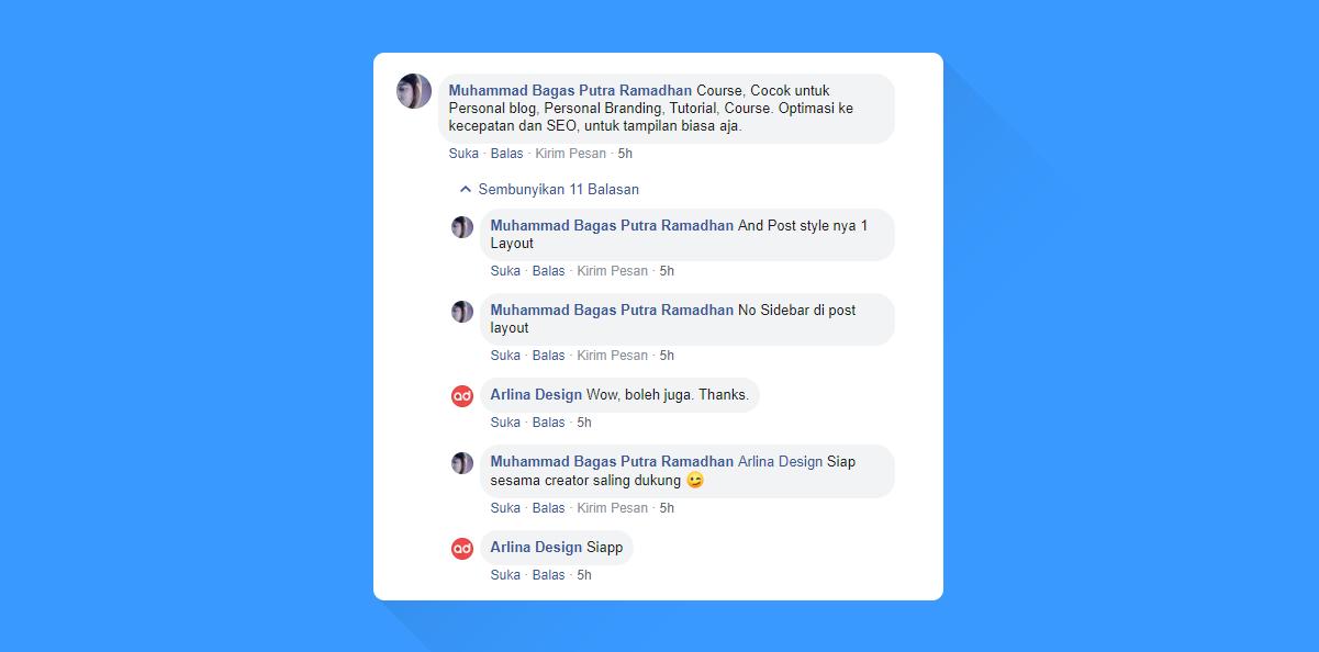 Course Responsive Blogger Template