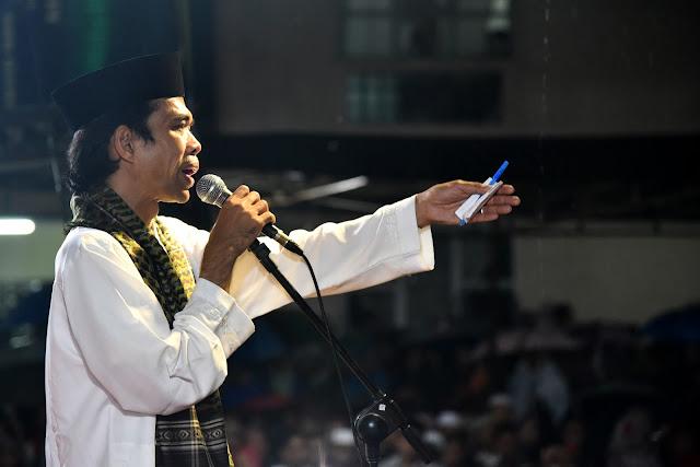 Ustaz Abdul Somad Serukan Umat Angkat 'Senjata'
