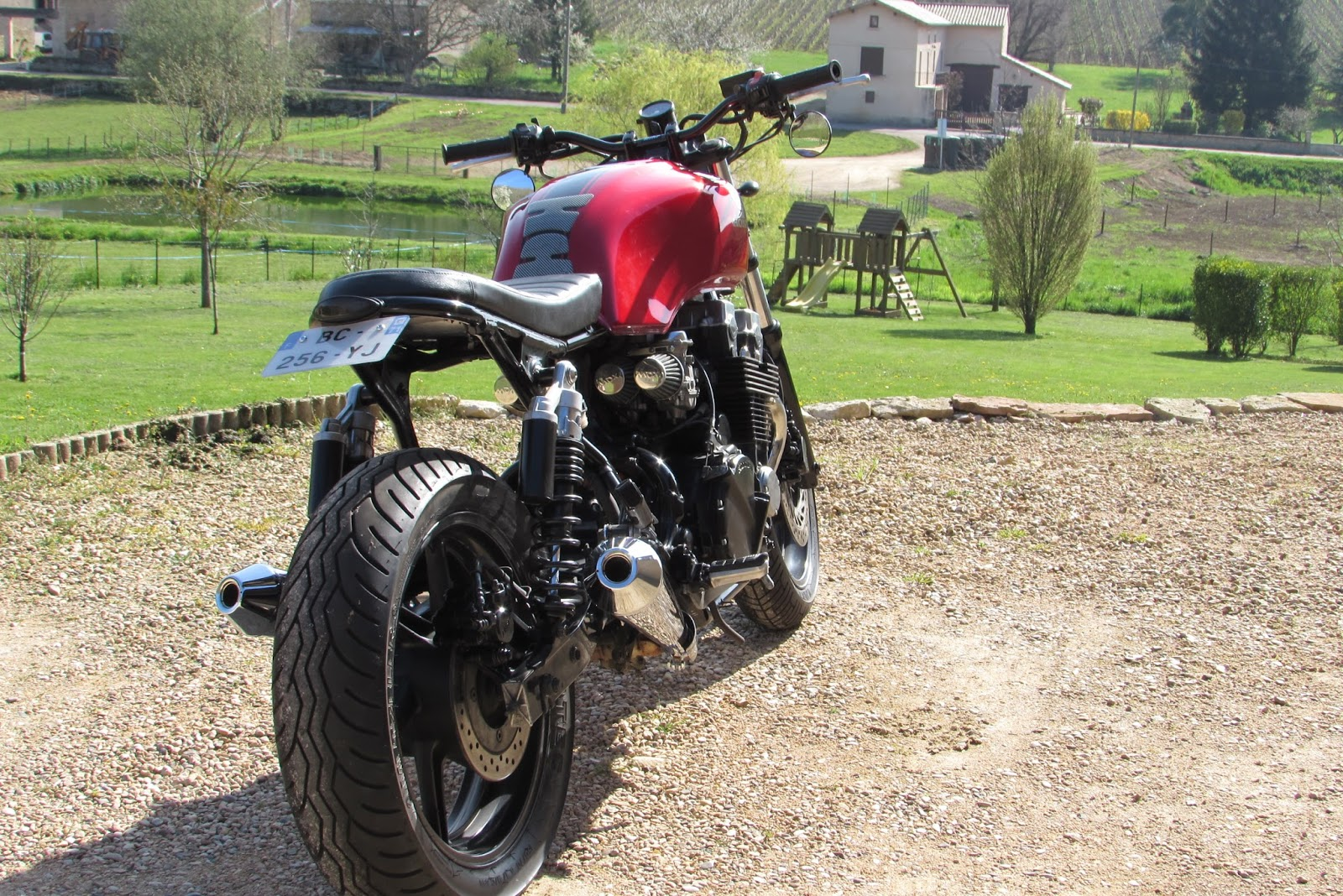 Boucle Arriere Cafe Racer Seven Fifty