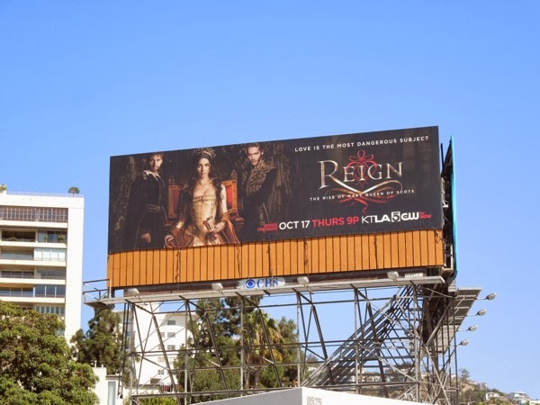 Reign series premiere billboard