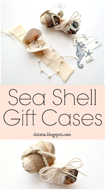 Sea Shell Gift Case Tutorial by Dana Tatar