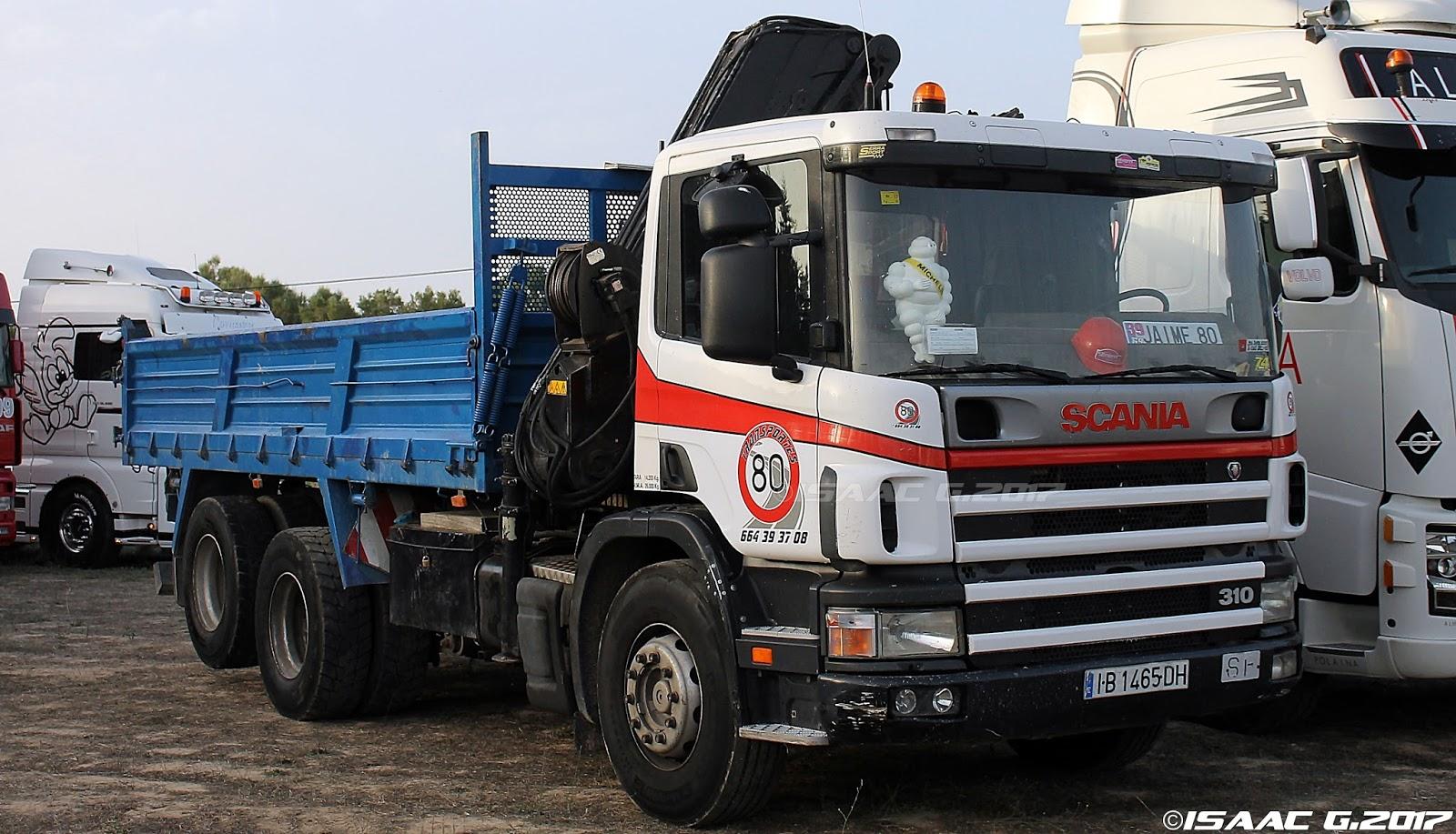 Camiones y autobuses en baleares scania 94g - Transporte islas baleares ...