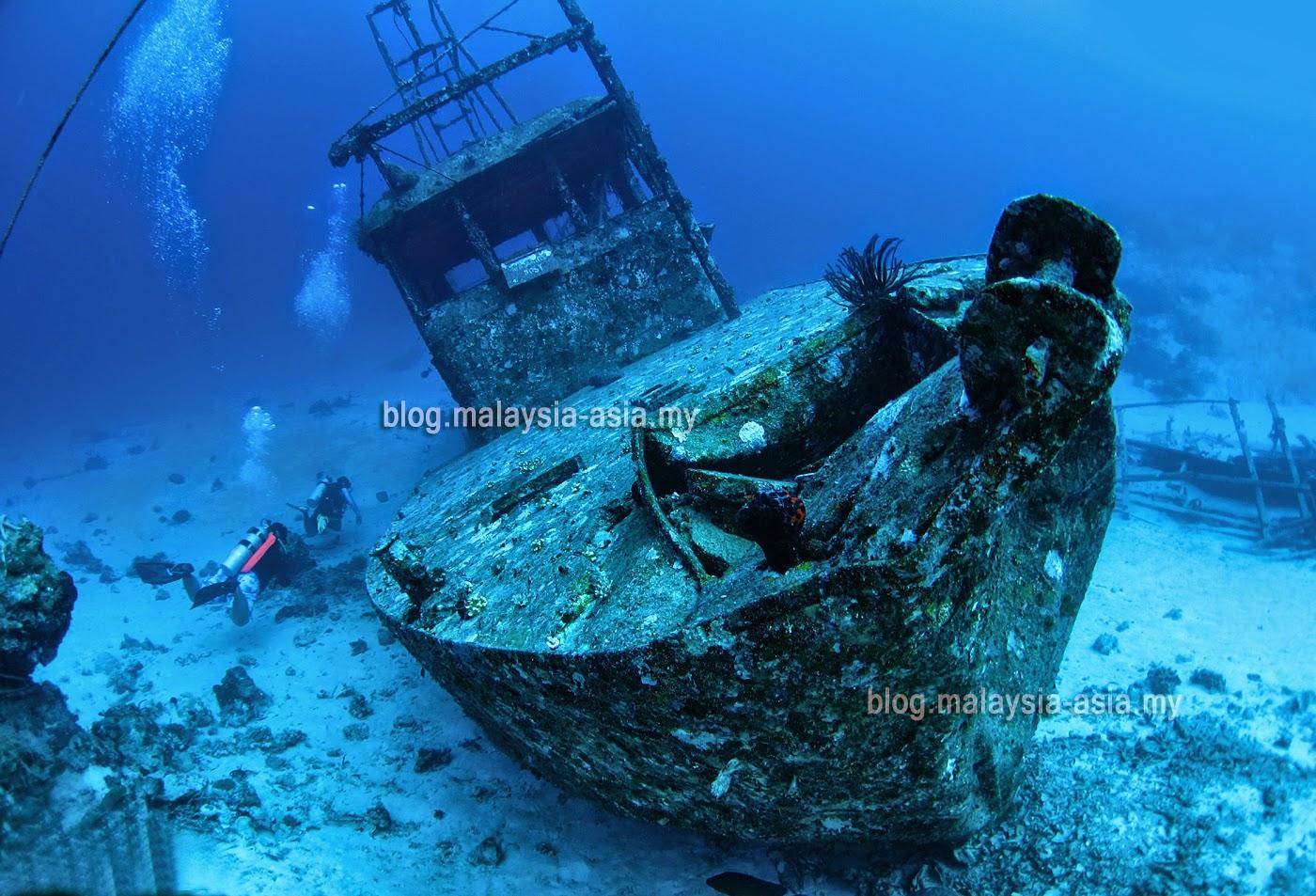 Diving at Mataking Island