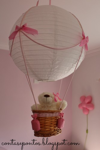 hot air ballon lamp