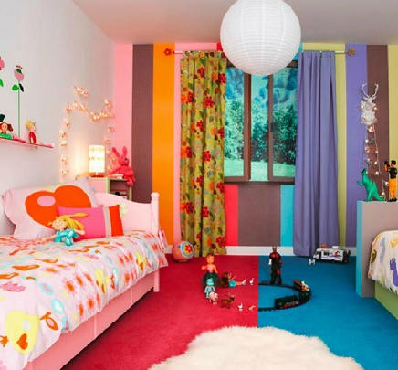 Fotos de dormitorios infantiles compartidos colores en casa - Dormitorio infantil original ...