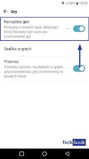 LG G5 Włączanie Funkcji Narzędzia Gier