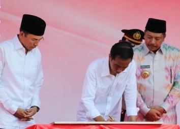Kunjungan Presiden, Gubernur: Harus Kita Jawab dengan Ikhtiar Kuat Membangun Daerah