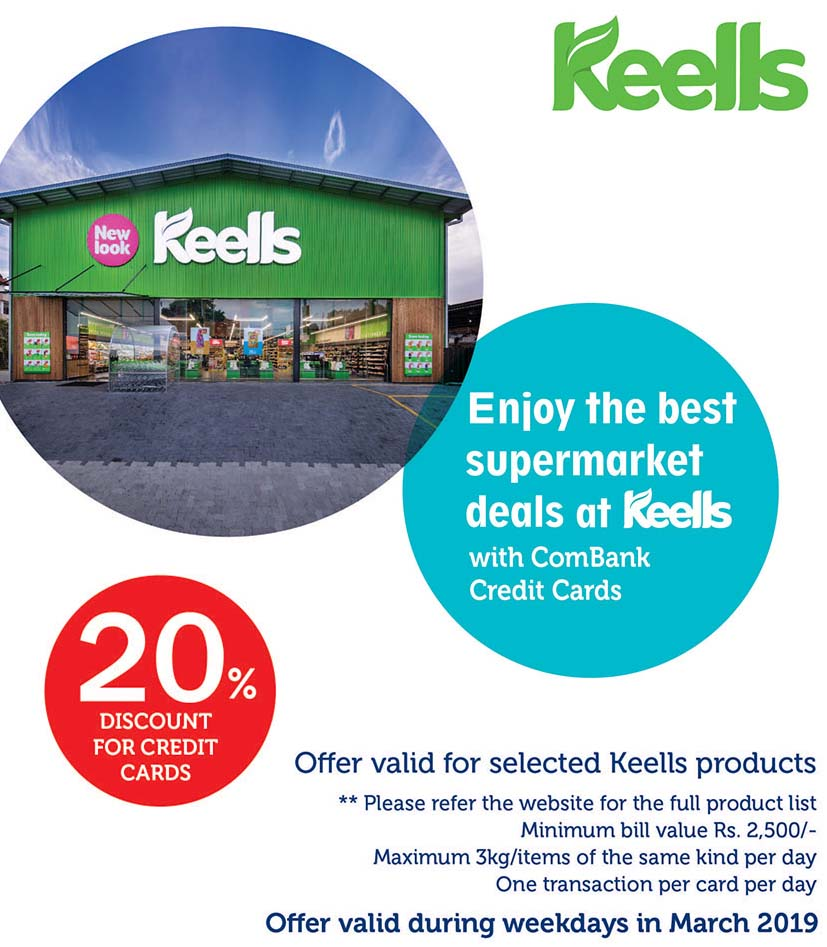 20% off at Keells