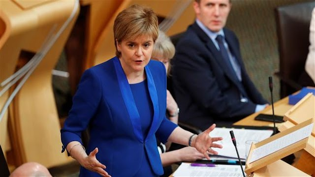 Scotland postpones 2nd independence referendum until after Brexit