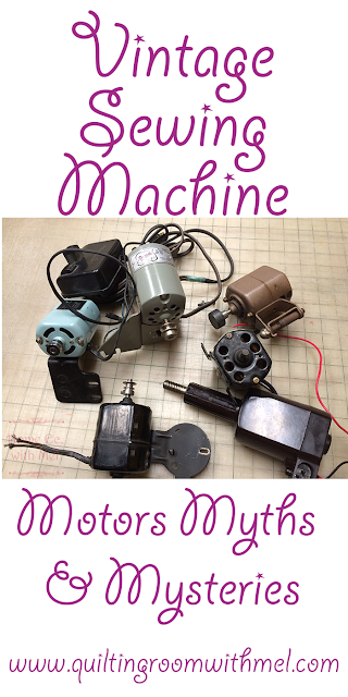 sewing machine motor myths