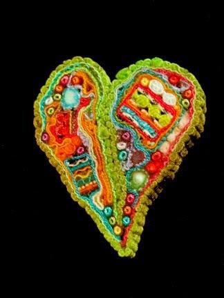 tekstylne serce