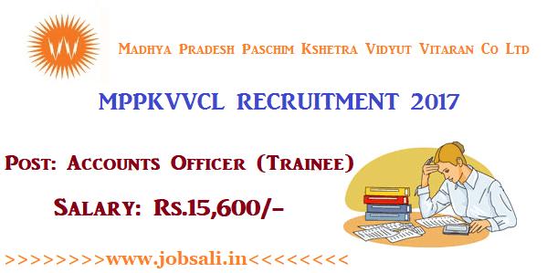 MPPKVVCL Jabalpur Recruitment 2017, MPEZ Recruitment, Govt Jobs in MP