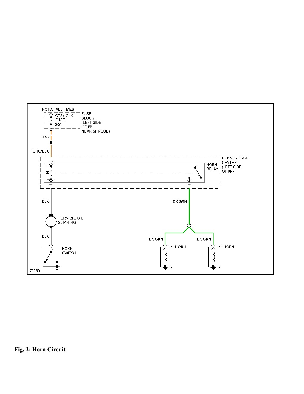 1995 Chevrolet Monte Carlo SS Complete Wiring Diagram Part