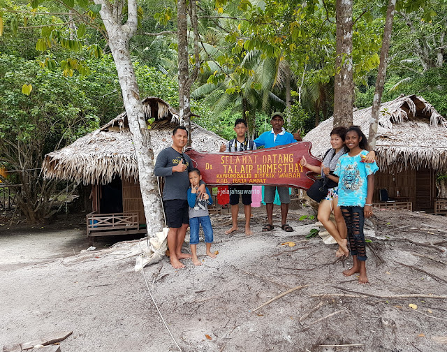 Selamat datang di Talaip Homestay, Raja Ampat +jelajahkeluargasuwanto