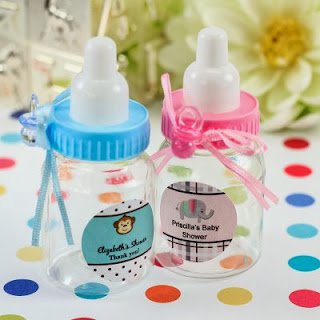 Personalized Baby Shower Party Candy Jar Favor bottle