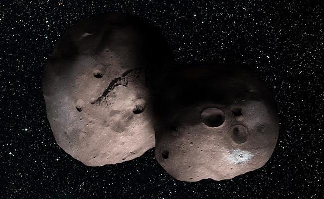 Tutorial Penelitian 2014 MU69 di Kuiper Belt mungkin biner dan memiliki bulan mungil