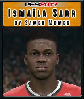 PES 2017 Faces Ismaïla Sarr by Sameh Momen