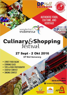 Culinary & Shopping Festival – DP Mall